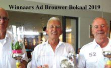 Ad Brouwer Bokaal  2019