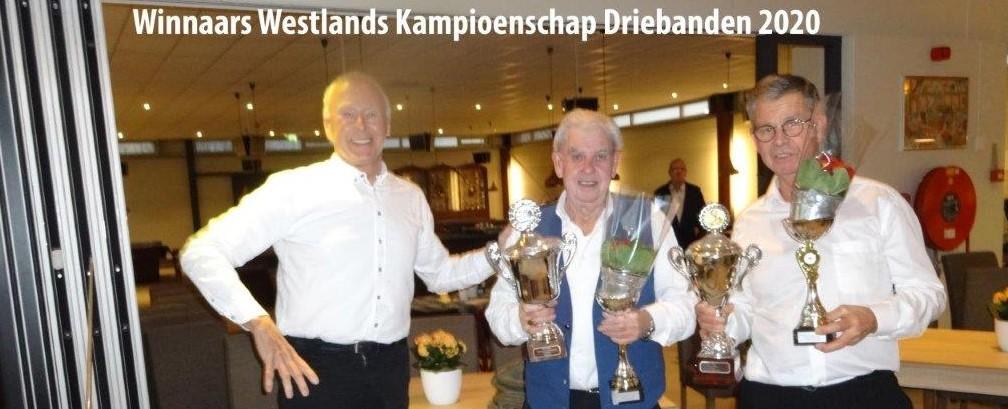 Westland Kampioenschap Driebanden 2020